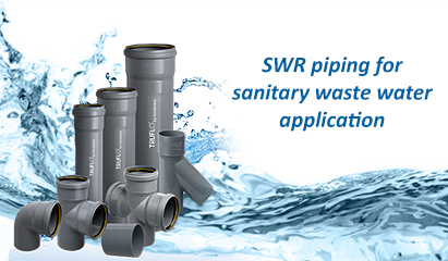 Plastic Water Pipes and Fittings Manufacturers in India